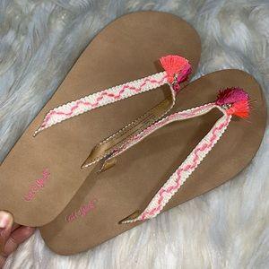 Other - Girls Flip Flops with tassel
